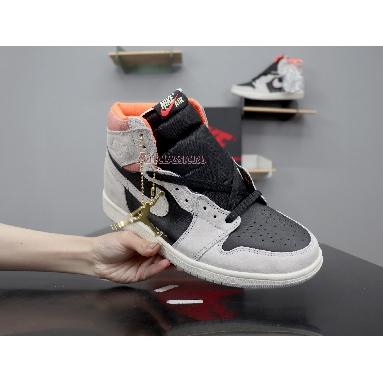 Air Jordan 1 Retro High OG Neutral Grey 555088-018 Neutral Grey/Hyper Crimson-White-Black Sneakers