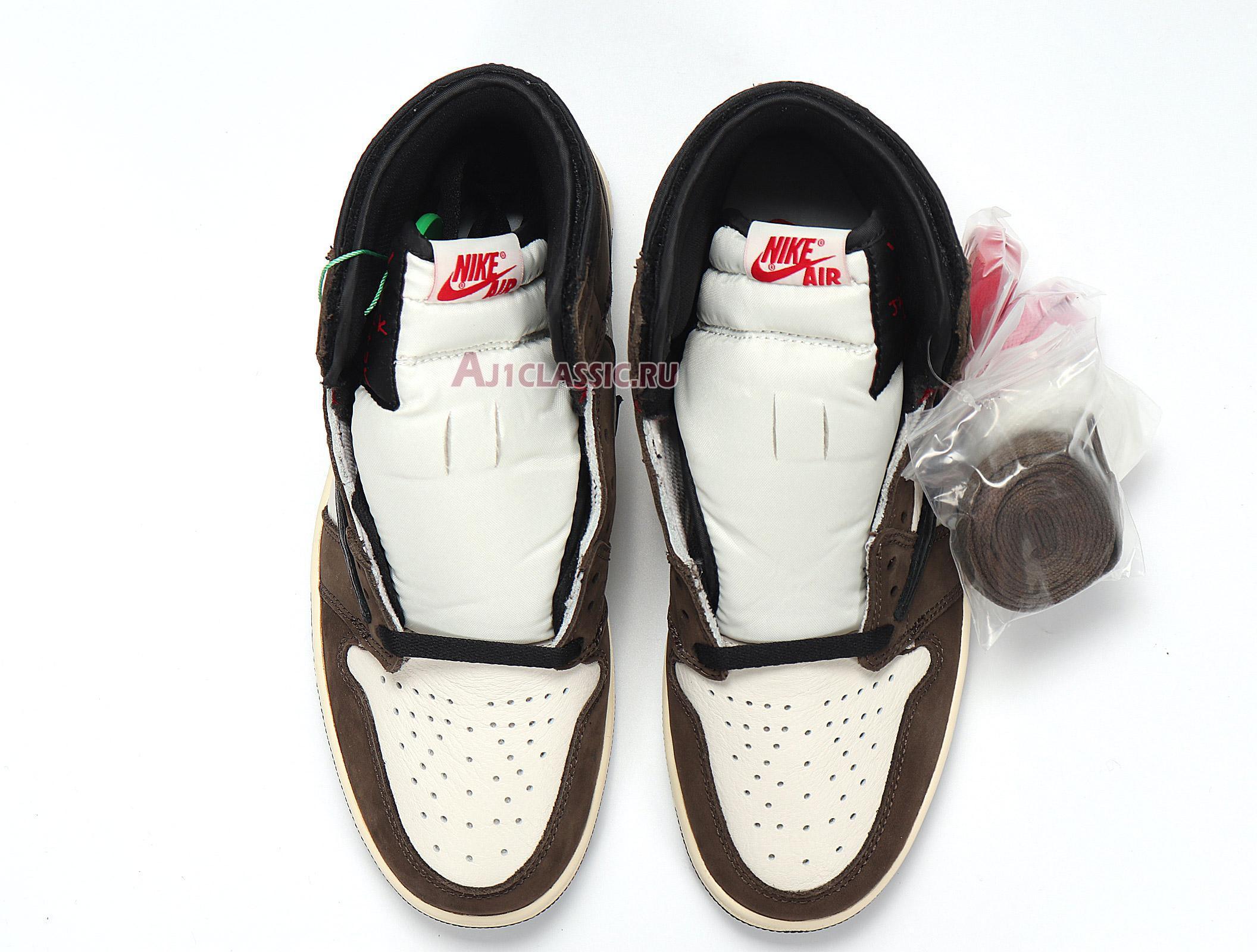 "Travis Scott x Air Jordan 1 Retro High OG ""Mocha"" CD4487-100"
