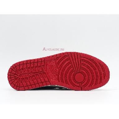 Air Jordan 1 High Chicago Winter CK5566-610 Red/Black/White/Diamond Sneakers