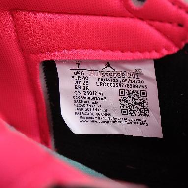 Air Jordan 1 Retro High OG Tokyo Bio Hack 555088-201 Baroque Brown/Black/Laser Orange/Racer Pink Sneakers