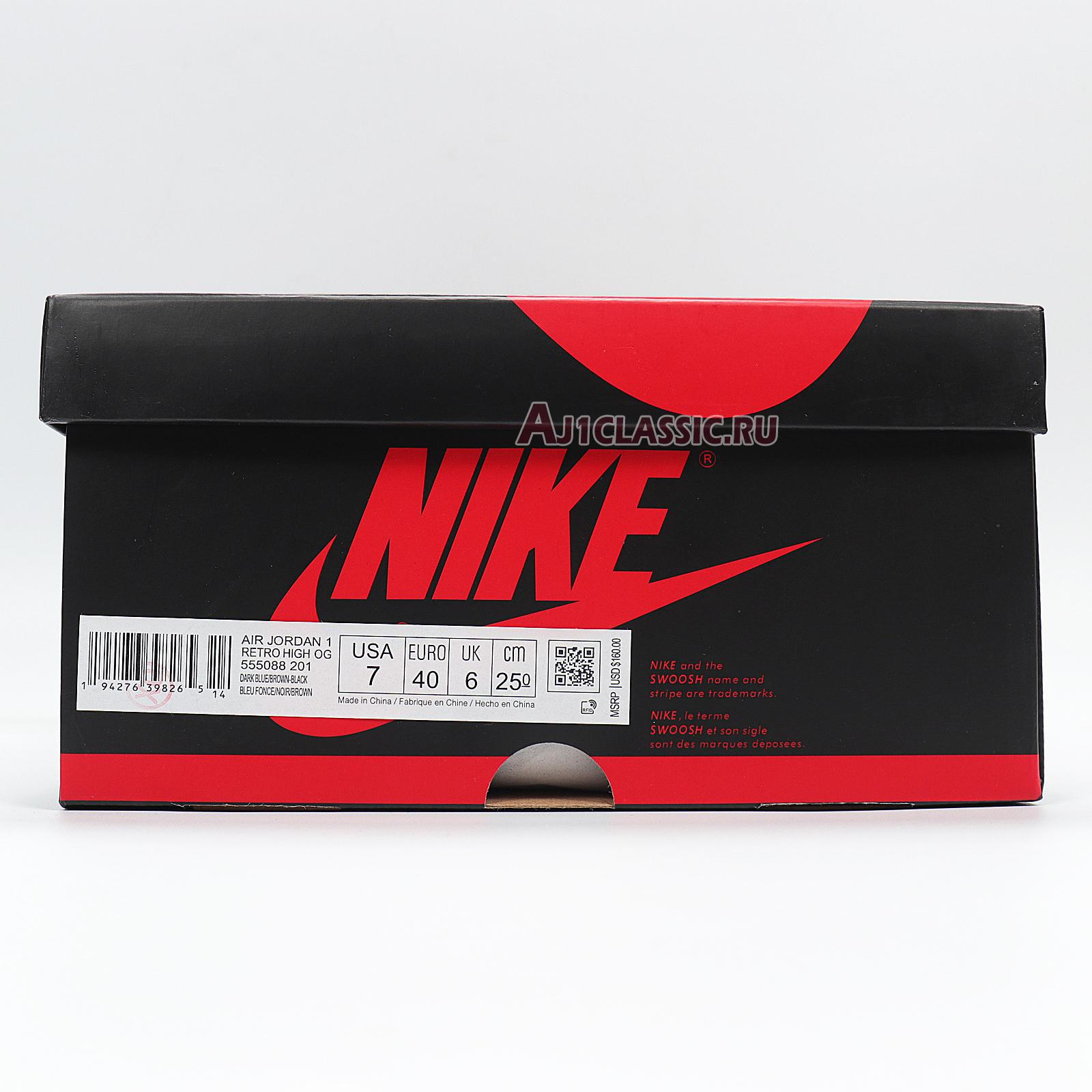 """Air Jordan 1 Retro High OG """"Tokyo Bio Hack"""" 555088-201"""