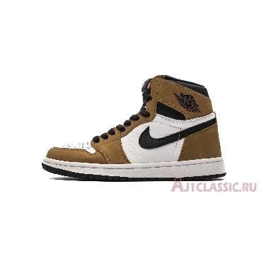 Air Jordan 1 Retro High OG Rookie of the Year 555088-700 Gold Harvest/Black-Sail Sneakers