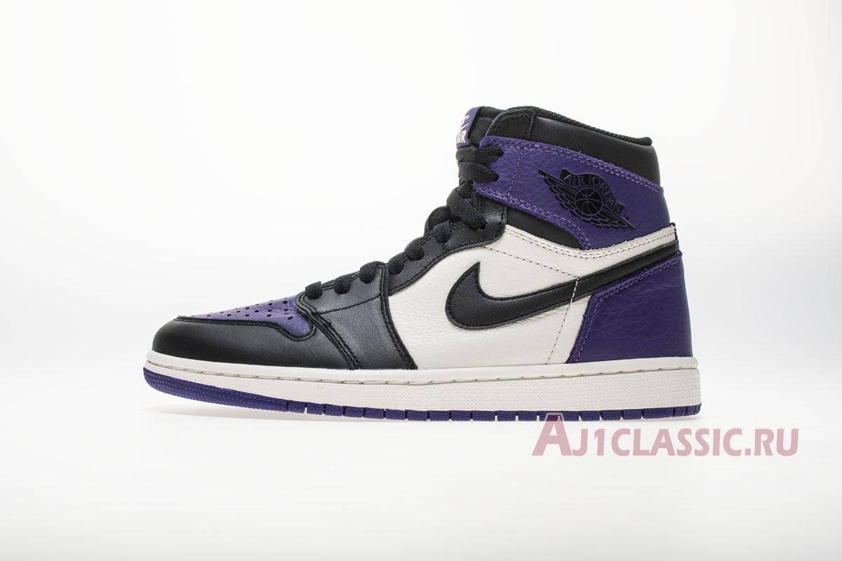 "Air Jordan 1 Retro High OG ""Court Purple"" 555088-501"