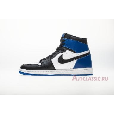 Fragment Design x Air Jordan 1 Retro High OG 716371-040 Black/Sport Royal-White Sneakers