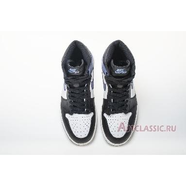 Air Jordan 1 Retro High OG Blue Moon 555088-115 Summit White/Blue Moon-Black Sneakers