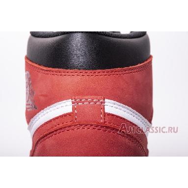 Air Jordan 1 Retro High OG Track Red 555088-112 Summit White/Track Red-Black Sneakers
