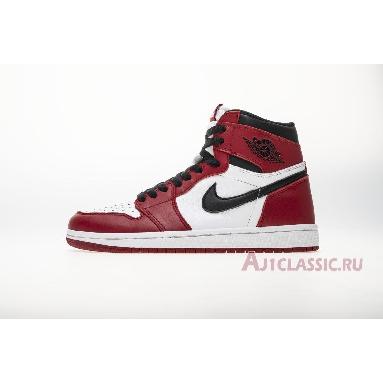 Air Jordan 1 Retro High OG Chicago 2015 555088-101 White/Black-Varsity Red Sneakers