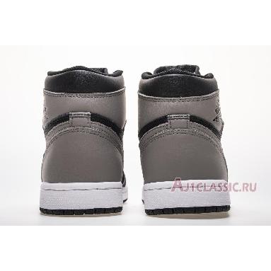 Air Jordan 1 Retro High OG Shadow 2018 555088-013 Black/White-Medium Grey Sneakers