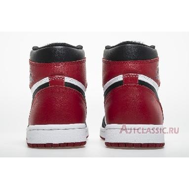 Air Jordan 1 Retro High OG Black Toe 2016 555088-125 Black/White-Varsity Red Sneakers