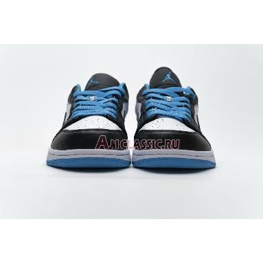 Air Jordan 1 Low Laser Blue CK3022-004 Black/Black-Laser Blue-White Sneakers