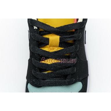 Air Jordan 1 Low SE Aurora Green CK3022-013 Black/Aurora Green/Laser Orange Sneakers