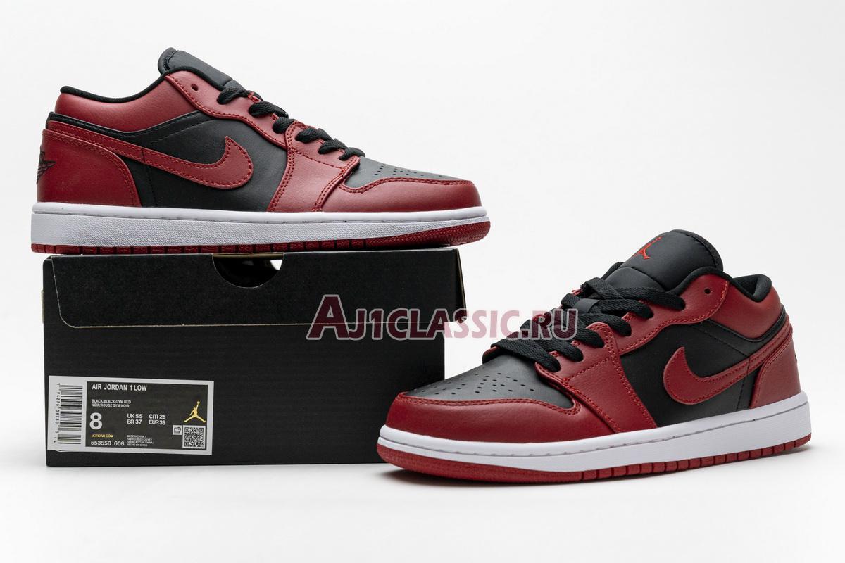 """Air Jordan 1 Low """"Reverse Bred"""" 553558-606"""