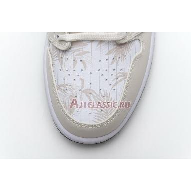 Air Jordan 1 Low Orewood Brown CK3022-107 Light Orewood Brown/Amarillo-White-Laser Blue Sneakers