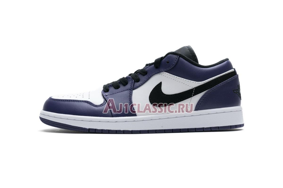 """Air Jordan 1 Low """"Court Purple"""" 553558-500"""