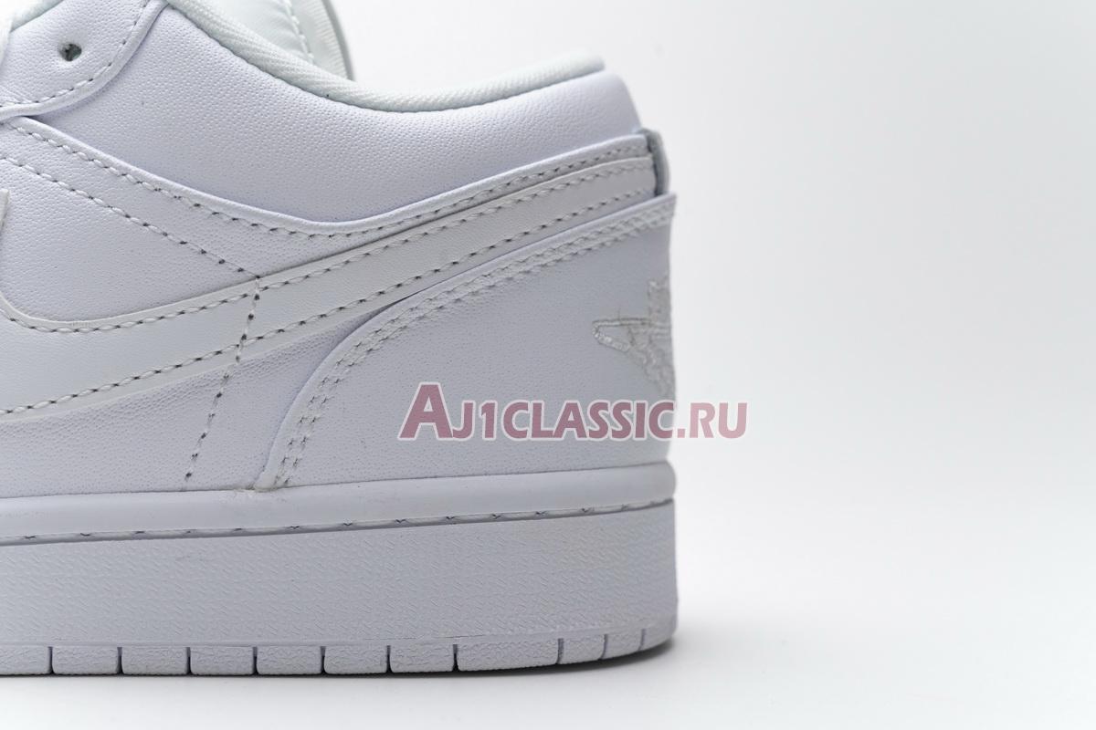 "Air Jordan 1 Retro Low ""White"" 553558-120"