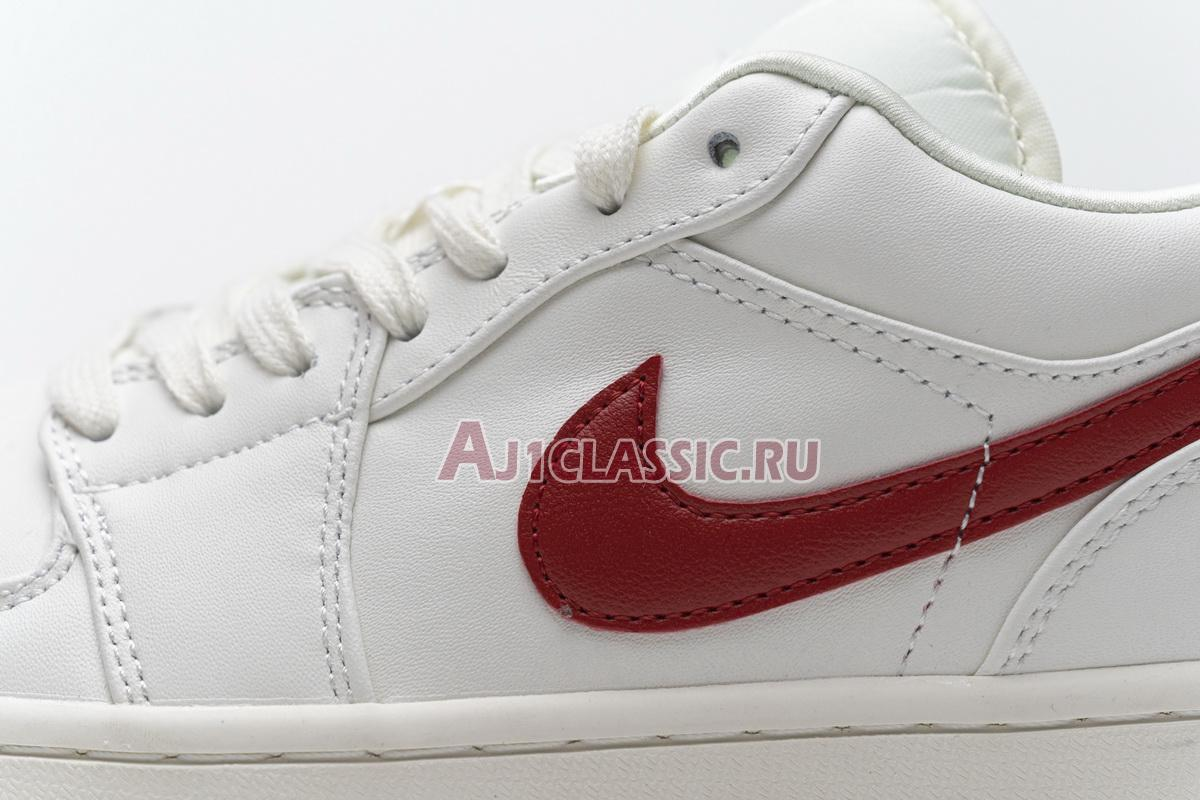 "Air Jordan 1 Retro Low ""White Red"" AQ9941-161"