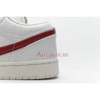 Air Jordan 1 Retro Low White Red AQ9941-161 Milk/White/Red Sneakers