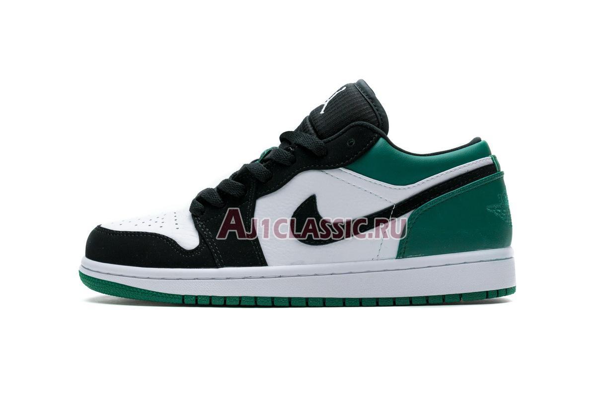"""Air Jordan 1 Retro Low """"Mystic Green"""" 553558-113"""