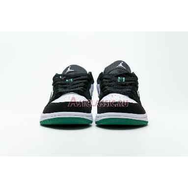 Air Jordan 1 Retro Low Mystic Green 553558-113 White/Black-Mystic Green Sneakers