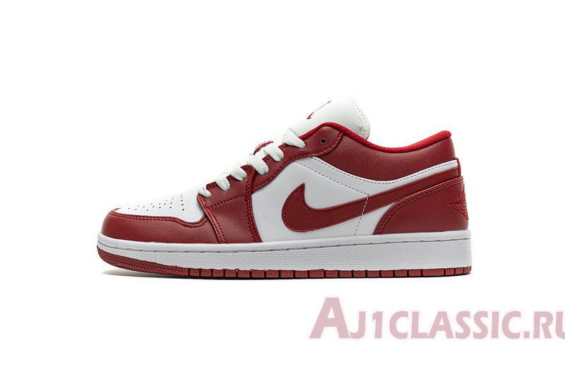 """Air Jordan 1 Low """"Gym Red"""" 553558-611"""