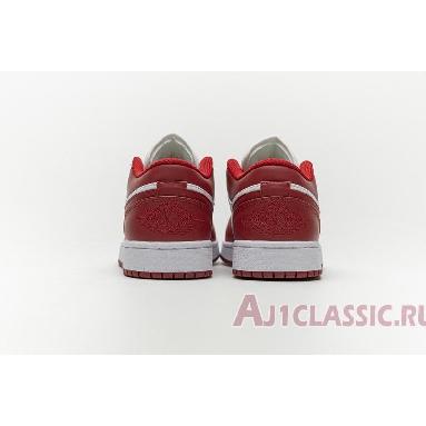 Air Jordan 1 Low Gym Red 553558-611 Gym Red/White Sneakers