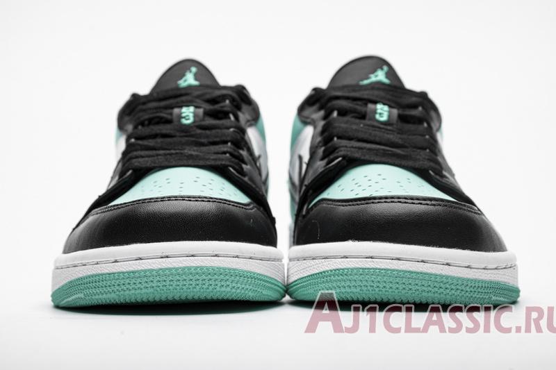 """Air Jordan 1 Low """"Emerald Rise"""" 553558-117"""