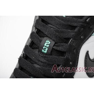 Air Jordan 1 Low Emerald Rise 553558-117 White/Emerald Rise-Black Sneakers