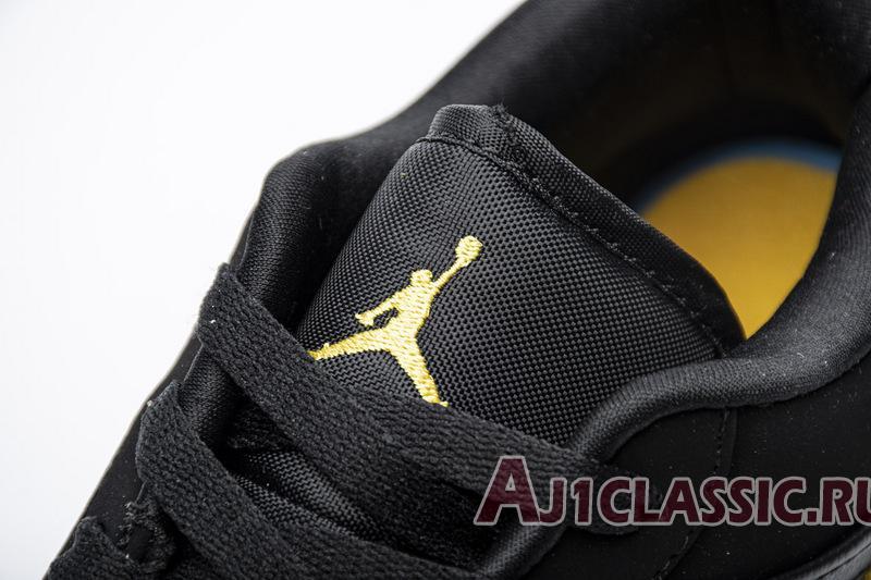 """Air Jordan 1 Low """"Black University Gold"""" 553558-071"""
