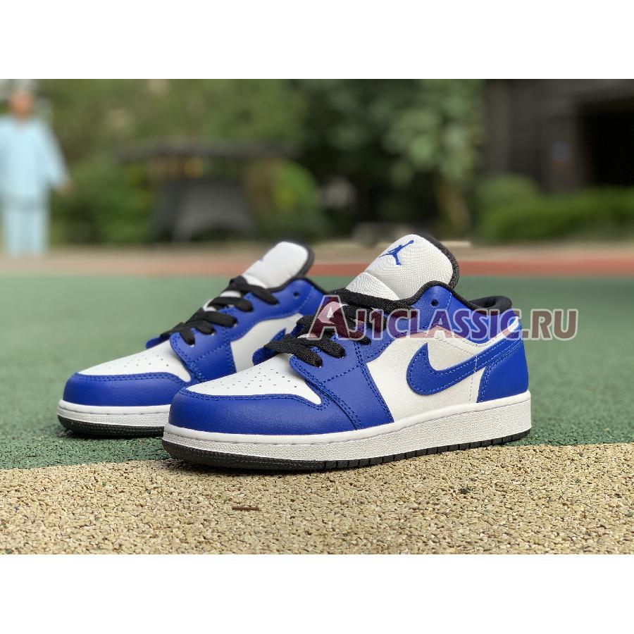 """Air Jordan 1 Low """"Game Royal"""" 553560-124"""