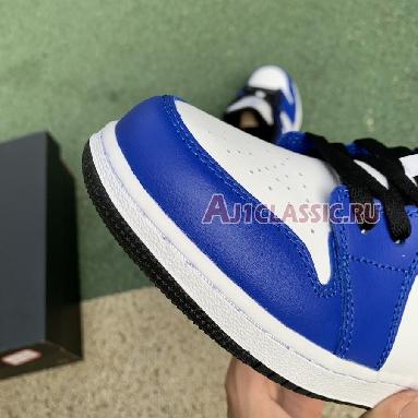Air Jordan 1 Low Game Royal 553560-124 White/Game Royal/Black Sneakers