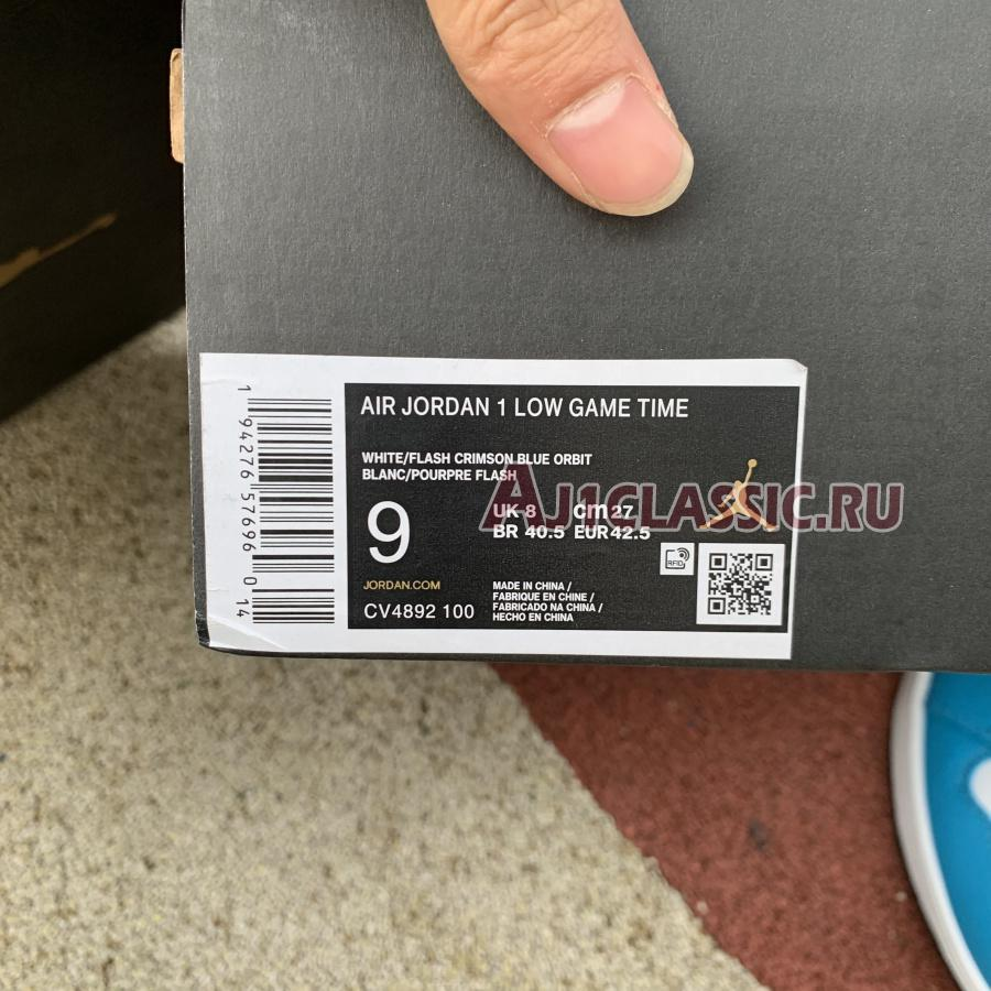 """Air Jordan 1 Low """"Game Time"""" CV4892-100"""