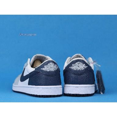 Air Jordan 1 Low Grey Navy CW8576-200 Grey/White/Navy/Blue Sneakers