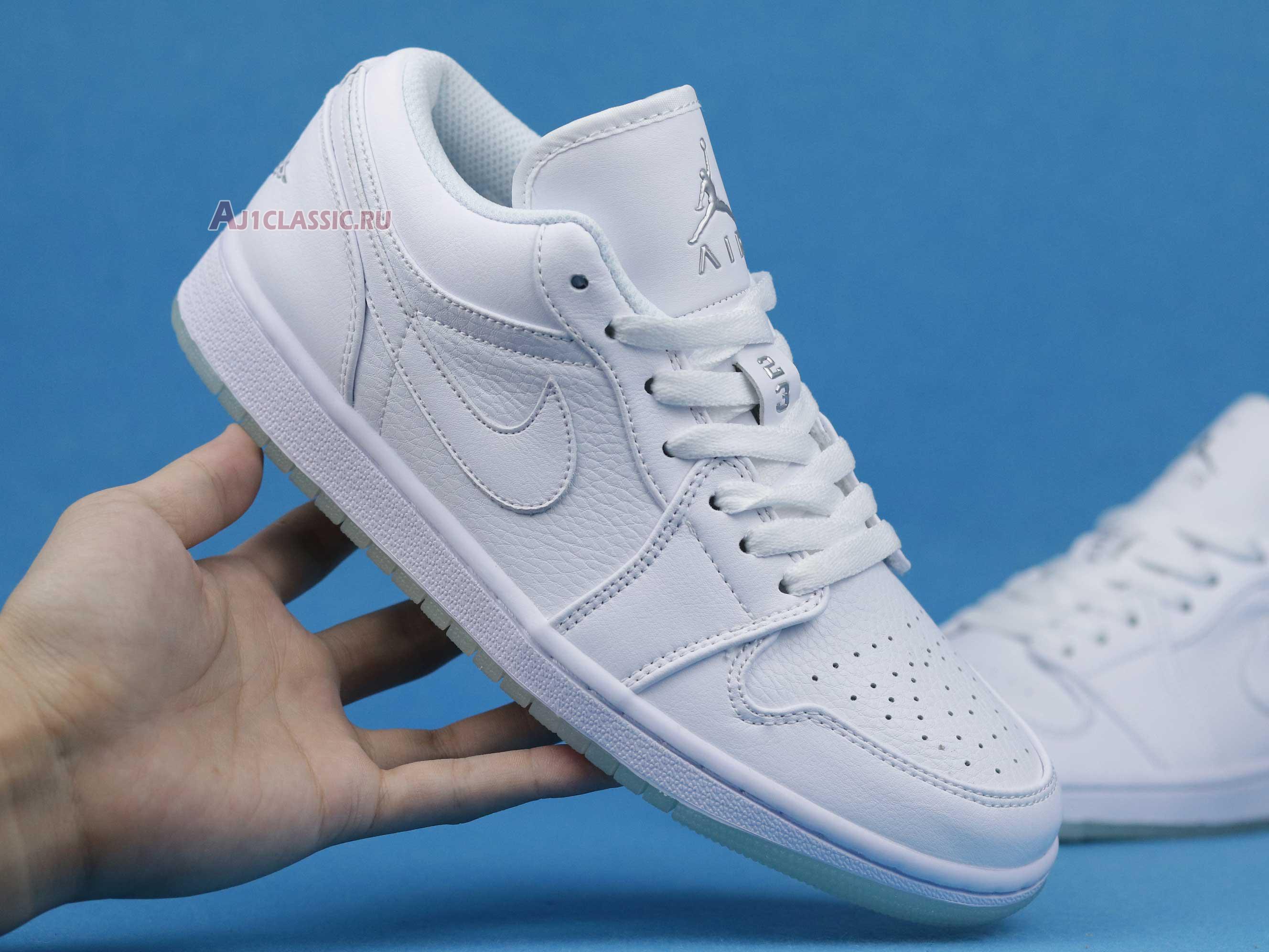 "Air Jordan 1 Low Retro ""White"" 309192-111"