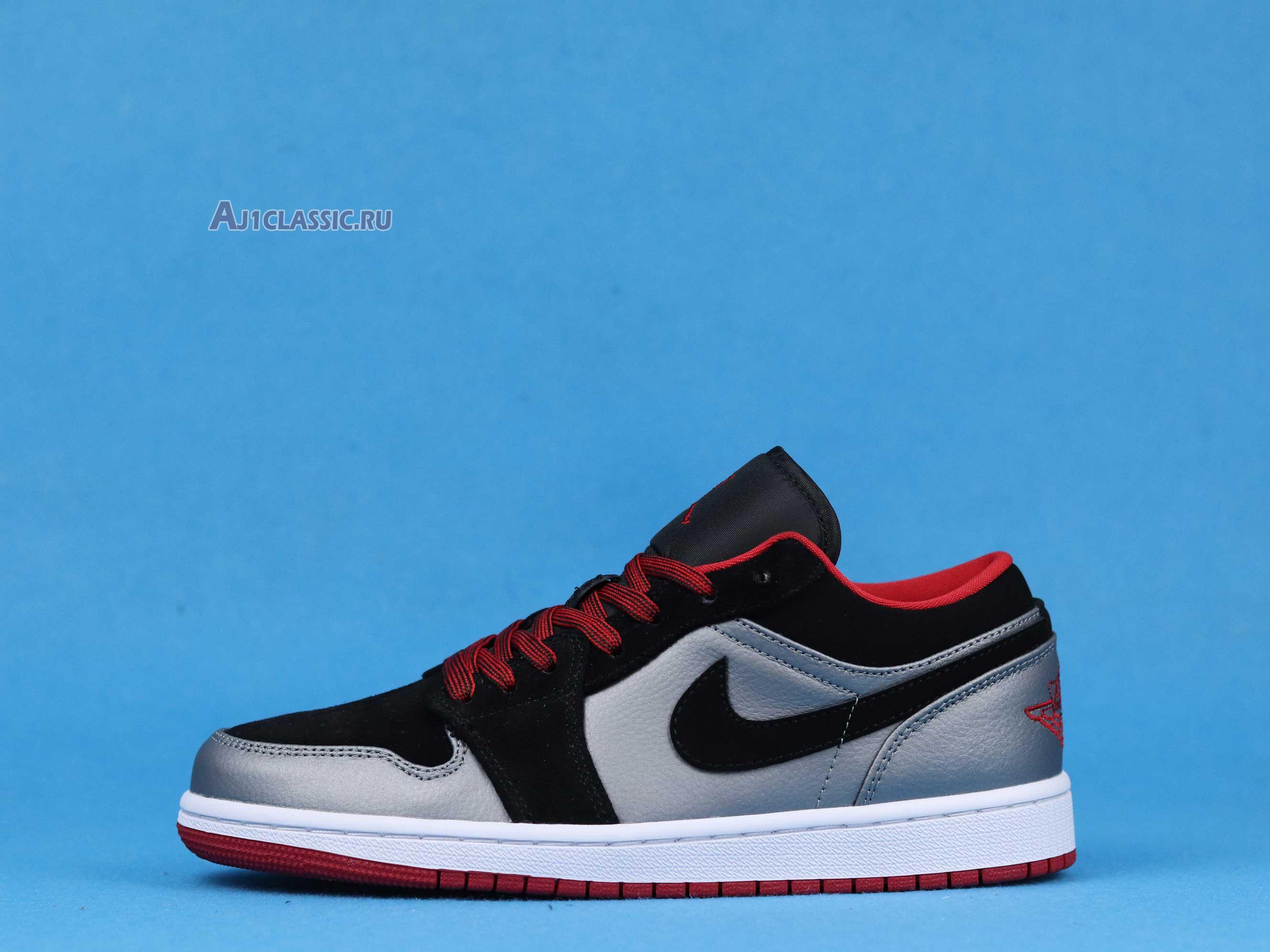 """Air Jordan 1 Retro Low """"Dark Grey Black"""" 553558-002"""