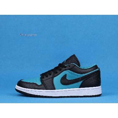 Air Jordan 1 Retro Low Blue Black 553558-026 Blue/Black/White Sneakers