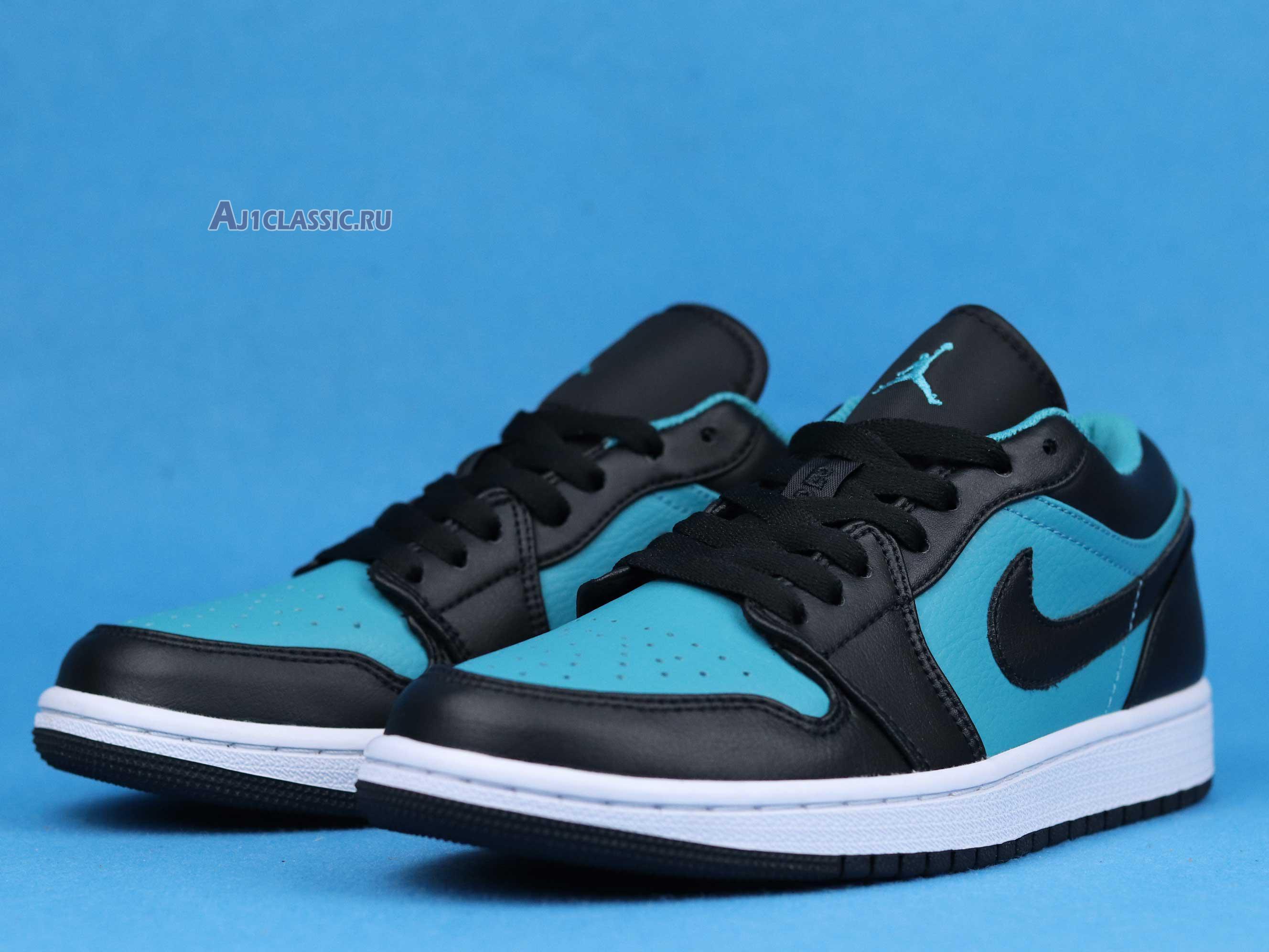 """Air Jordan 1 Retro Low """"Blue Black"""" 553558-026"""