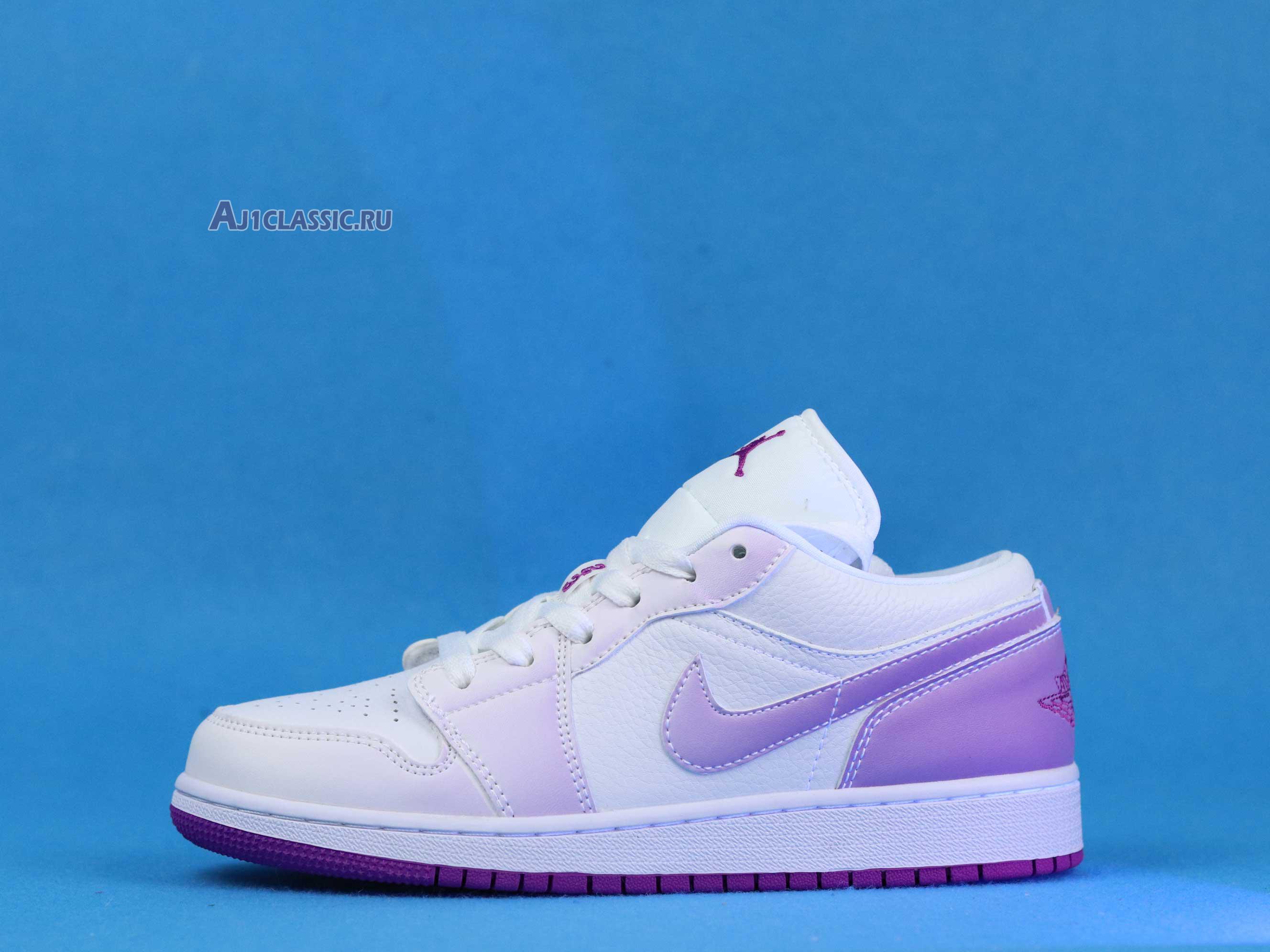 """Air Jordan 1 Low SE """"Court Purple Discoloration"""" 555112-ID"""