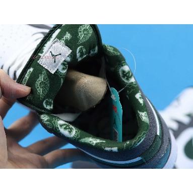 Air Jordan 1 Retro Low Northside 309192-131 White/Deep Forest-Light Grgaphite Sneakers