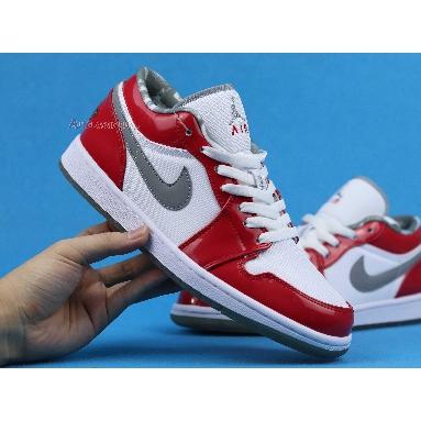 Air Jordan 1 Retro Low South Side 309192-171 White/Stealth-Varsity Red Sneakers