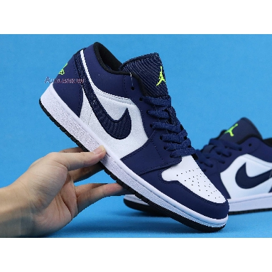 Air Jordan 1 Retro Low Insignia Blue 553558-405 Insignia Blue/Grey-Black Sneakers