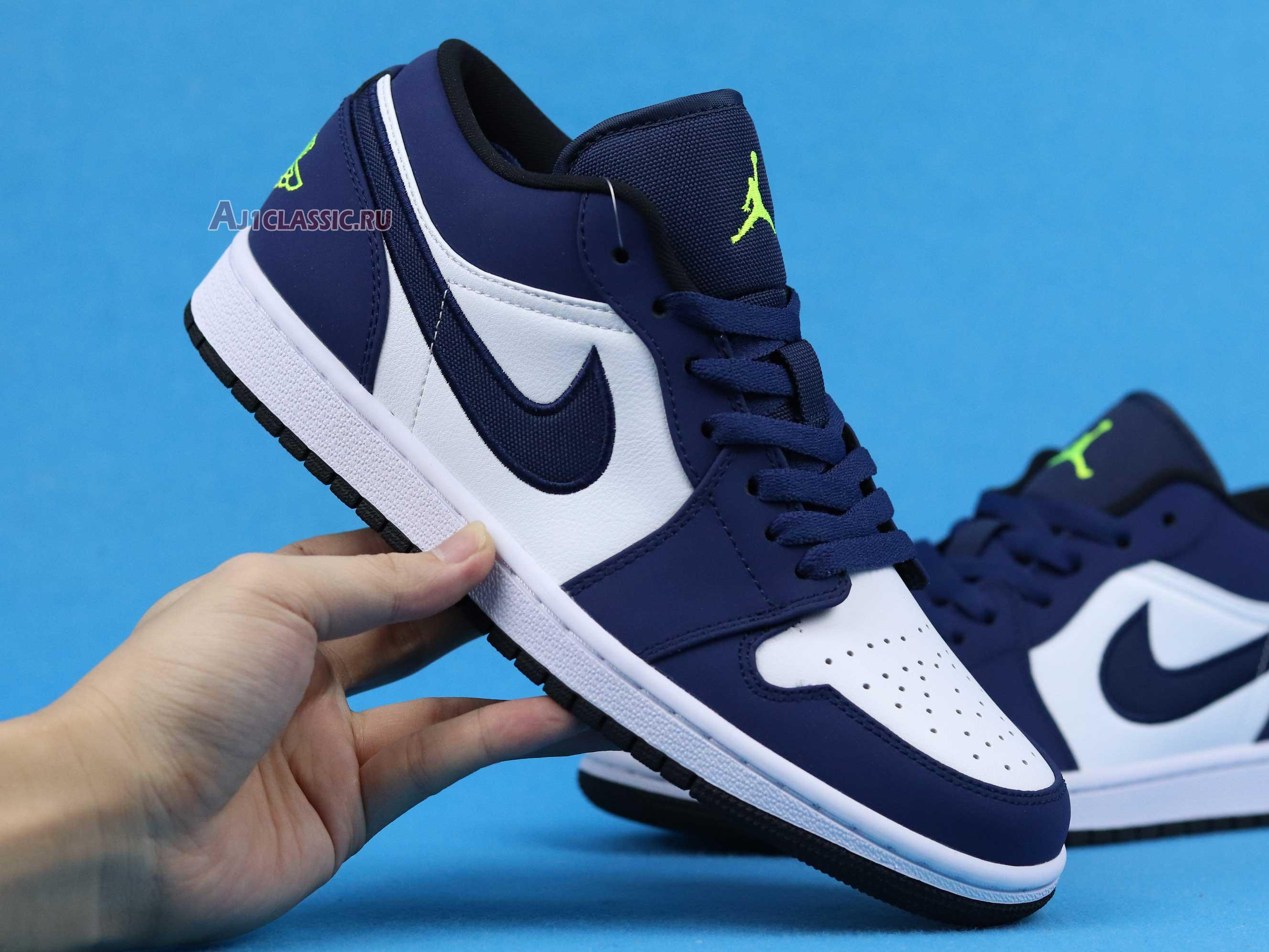 "Air Jordan 1 Retro Low ""Insignia Blue"" 553558-405"