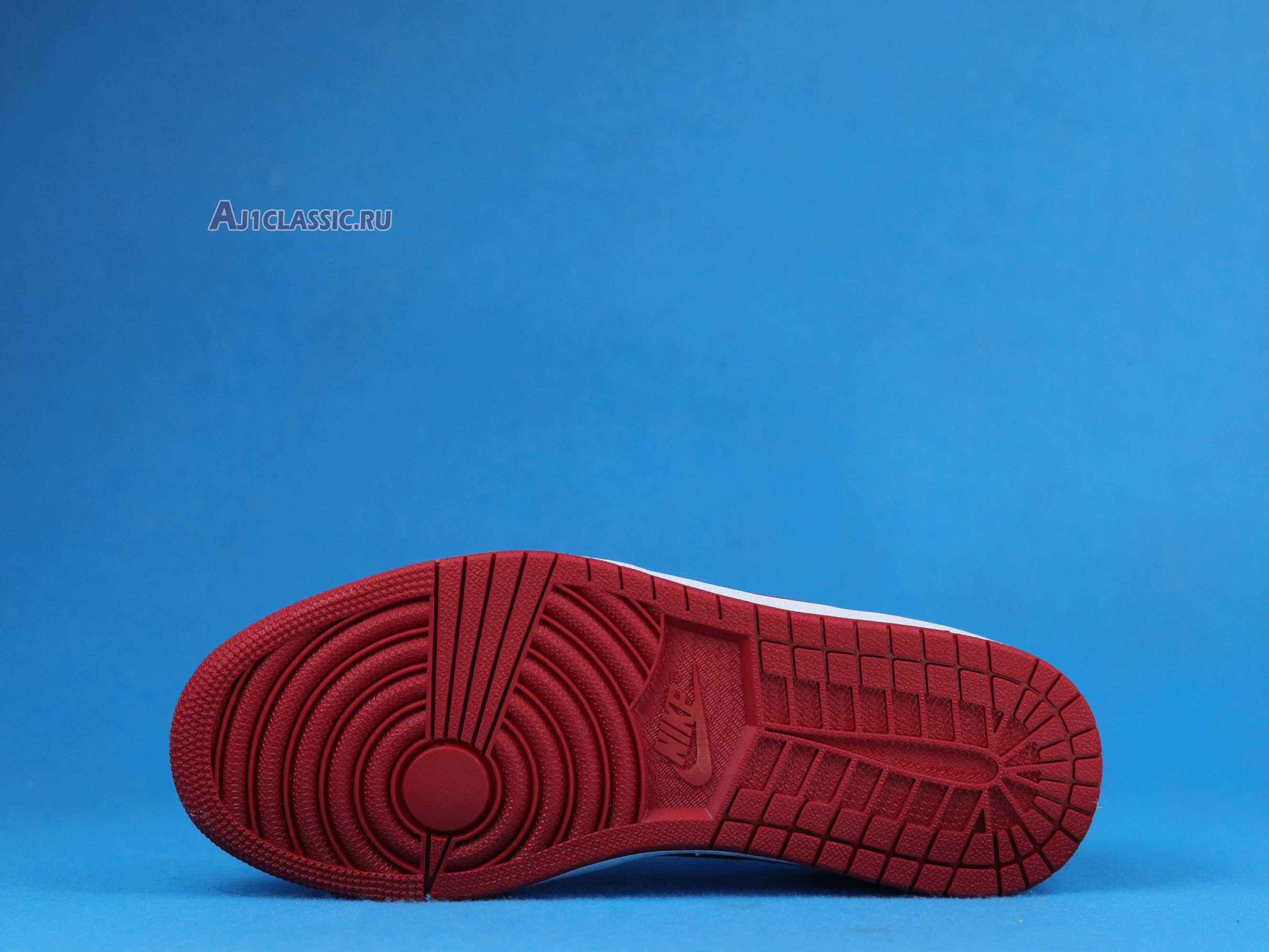 """Air Jordan 1 Low """"Gym Red - Black"""" CW0192-200"""