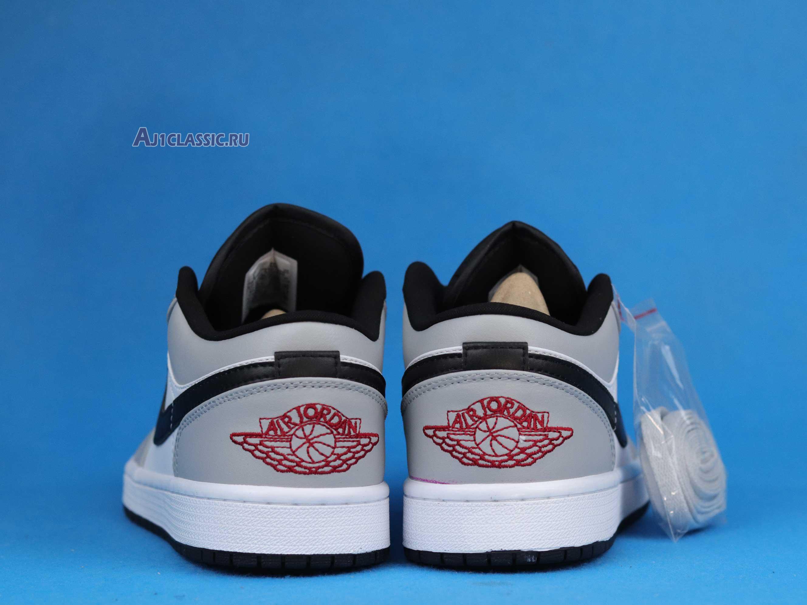 "Air Jordan 1 Low ""Light Smoke Grey"" 553558-030"