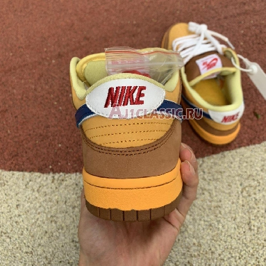 Nike Dunk Low SB Premium Newcastle Brown Ale 313170-741 Gold/Atantic Blue Sneakers