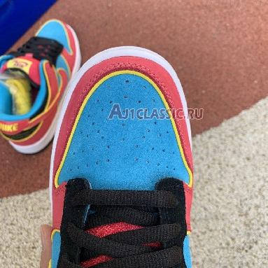 Nike Dunk Low Premium SB Pacman 313170-461 Chlorine Blue/Cersie/Red Sneakers