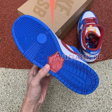 Nike SB Dunk Low Doraemon CI2692-400-02 Light Photo Blue/University Red Sneakers