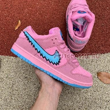 Grateful Dead x Nike SB Dunk Low Pink Bear CJ5378-600 Pink/Blue Fury Sneakers