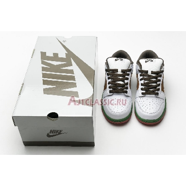 Nike Dunk Low Pro SB Cali 304292-211 Pecan/White/Brown/Red/Green Sneakers