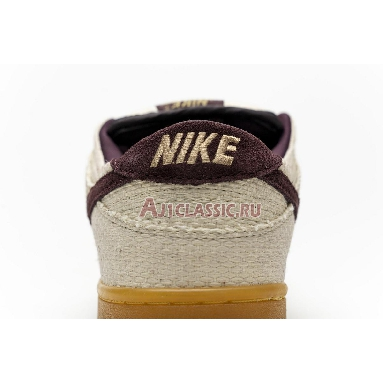 Nike Dunk Low Pro SB Red Hemp 304292-761 Jersey Gold/Red Mahogany Sneakers
