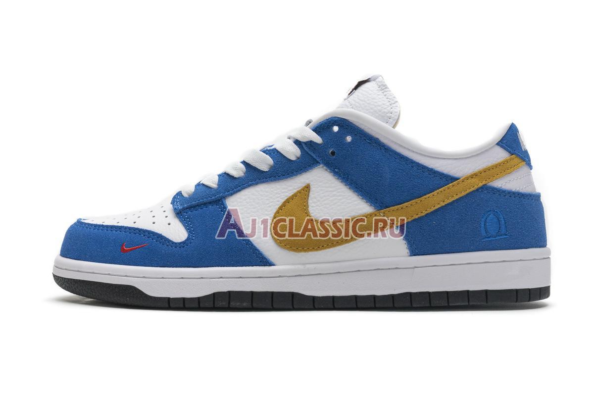 "Kasina x Nike Dunk Low ""Industrial Blue"" CZ6501-101"